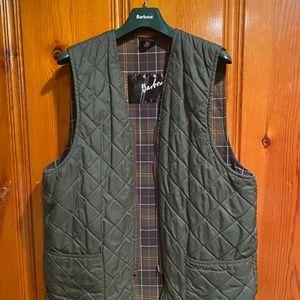 Barbour Quilted Waistcoat/Zip-In Liner (Large)